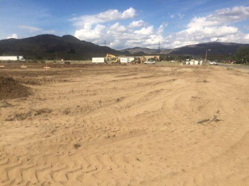 Ground Breaking for new Omak, Station